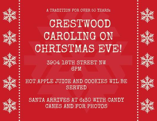 Crestwood Citizens Association Crestwood Caroling